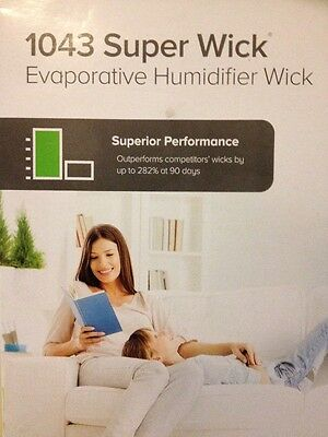 4 Aircare Super Wick, Humidifier Wick Filter 1043 - Quantity 4 Free Shipping