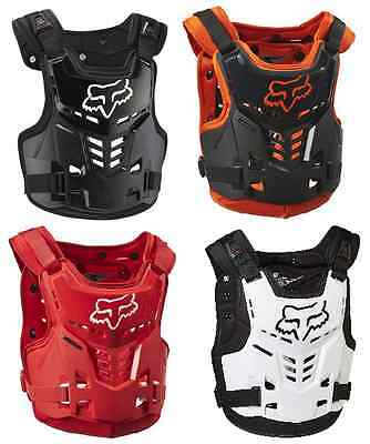 Fox Racing Proframe Kids Youth Chest Guard Protector Motocross Mx Off Road Atv