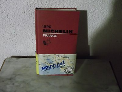 Guide Rouge Michelin 1990