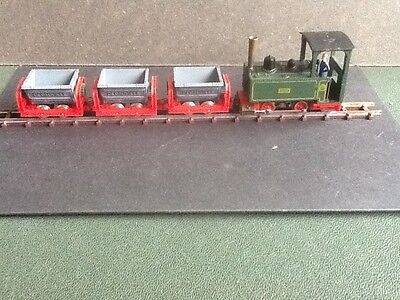 Playcraft / Jouef P10  Loco and 3 tipper wagons