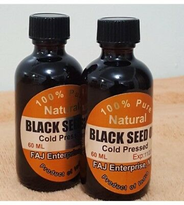 Black Cumin Seed Oil , Nigella Sativa , 100% Pure Natural Virgin Cold Pressed