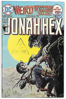 Weird Western presents Jonah Hex #27 (DC 1974 fn 6.0) Guide value $12.00 (£9.50)
