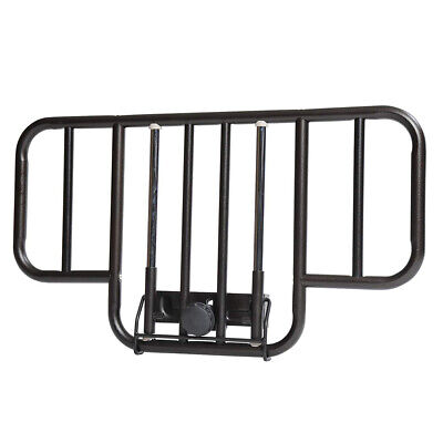 Drive 15201BV No Gap Half Length Side Bed Rails with Brown Vein Finish, 1 Pair