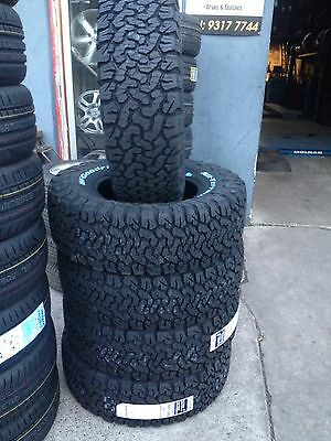225/65/17 107/103S BF Goodrich All Terrain T/A KO2 RWL USA  Brand New Tyres