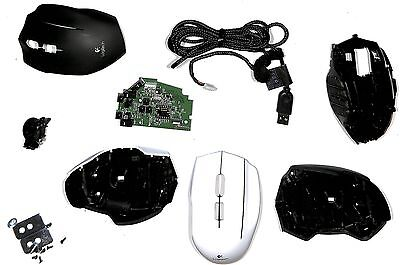 ALL SPARE PART FOR Logitech G600 BLACK AND WHITE