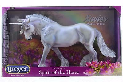 Breyer Traditional Model Horse  NIB 1771 Unicorn XAVIER - Pearly Deco Wintersong