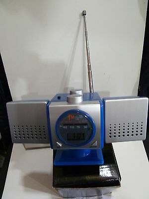 Novelty Radio In A Shape Of Satalite Am-(Mw) -Fm  With Box