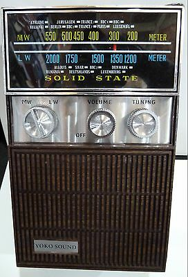 Vintage Radio Model Yoko Sound-Bands  Mw(-Am) - Lw- 1960S With Box