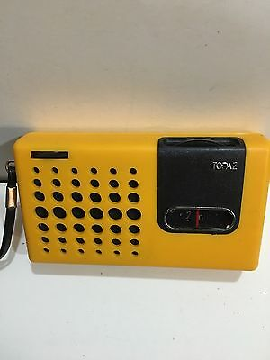 Vintage Topaz Pocket Radio  Am(Mw)- Band From The 1960S