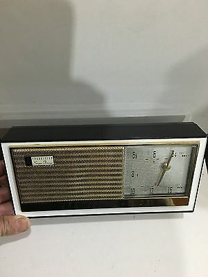 VINTAGE RADIO CHANNEL MASTER MADE BY  SANYO BANDS  MW(-AM) - 1950s & BOX