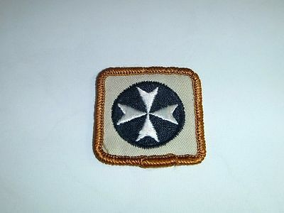 BOY SCOUTS Vintage First Aid Merit Badge Patch