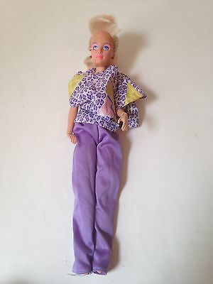 1985 Jem and the Holograms Jem/Jerrica Flash And Sizzle Doll
