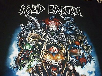 Iced Earth Shirt ( Size L ) NEW!!!