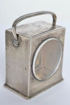 Antique Sterling Silver 925 Rare Tiffany & Co T&co Carriage Clock Case