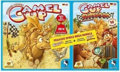 Camel Up + Camel Up Supercup Bundle (Spielware) NEU