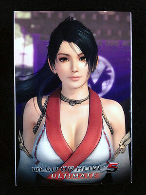 Dead or Alive 5 Ultimate Playing Cards Deck Trump Tecmo PS3 Xbox 360 Momiji