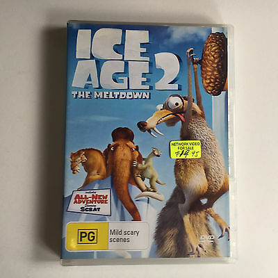 Ice Age 2 The Meltdown DVD - Family - NO CASE - DISK ONLY