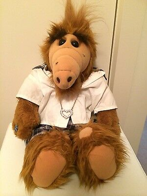 ALF THE ALIEN-1986-21 inches- as new- vintage toy- plush toy