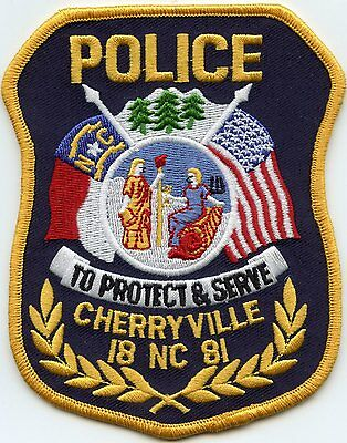 Cherryville North Carolina Nc Police Patch
