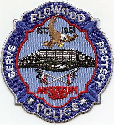 FLOWOOD MISSISSIPPI MS Serve Protect POLICE PATCH