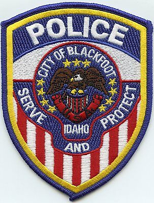 BLACKFOOT IDAHO ID Serve And Protect POLICE PATCH
