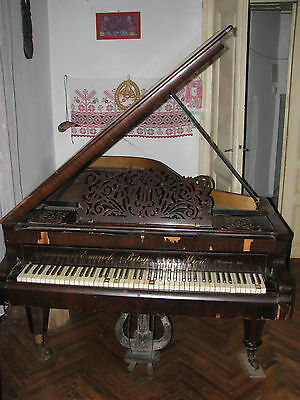 Emerich Betsy 1854 antique grand piano one of a kind
