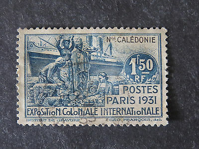 New Caledonia 1931 Colonial Exposition Paris 1.50F - Good Used
