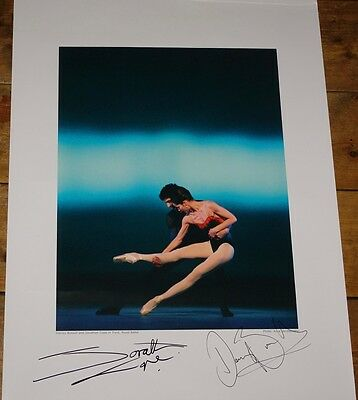 Darcey Bussell Jonathan Cope Tryst Signed Royal Ballet Poster Uacc Reg Dealer