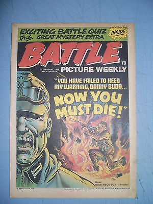 Battle Picture Weekly issue dated February 28 1976
