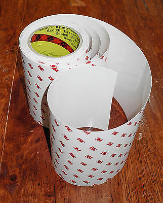 """3M Superior Helicopter Bike Frame Protection OPVC Tape """"RHINO HIDE """" 1mx15cm"""