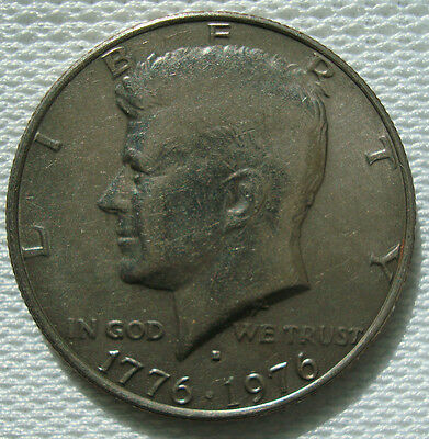 Kennedy Half Dollar 1976 D USA United States of America
