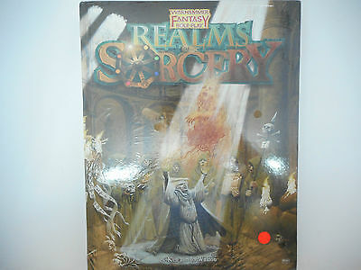 Realms of Sorcery, for Warhammer Fantasy Roleplay 1st Edition NEW/SEALED