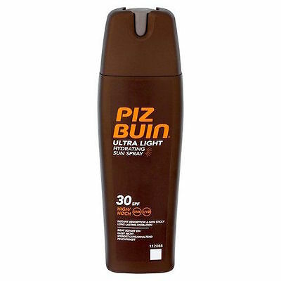 Piz Buin Ultra Light Hydrating Sun Spray SPF30 200ml