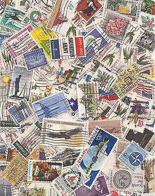 USA  500 USED STAMPS 2 CNT/STAMP. Unsearched Lot.