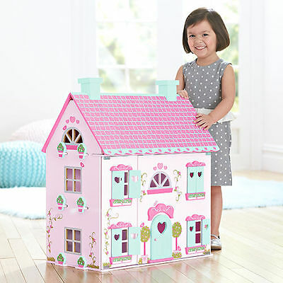 NEW XMAS GIFT ARRIVAL Country Mansion Table Top Doll House 794719