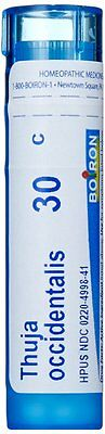 Boiron Homeopathic Medicine Thuja Occidentalis, 30c Pellets, 80 Count Tube