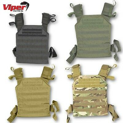 Viper Elite Carrier Airsoft Webbing Paintball Tactical Molle Combat Armour Army