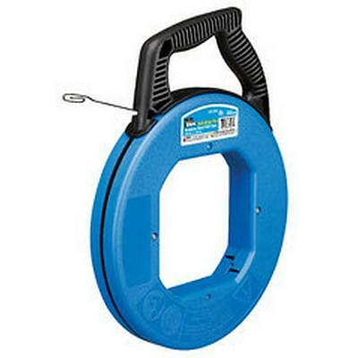 Ideal Fish Tape 1/8 in. x 240 ft Tuff-Grip Pro Stainless Steel Cable Wire Puller