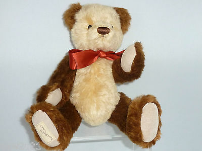 DEANS BEAR RAG BOOK  HUNTER LIMITED EDITION No.2759 - 2008 MEMBERSHIP JOINTED