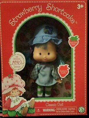 2016 Bridge Direct Strawberry Shortcake Blueberry Muffin Classic 1980's Doll
