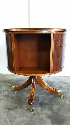 Antique Revolving Bookcase / Bookstand Yew Colour