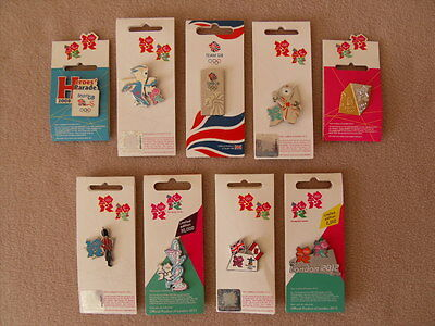 London 2012 Olympics Limited Edition Pin Badges - New