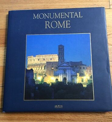 Unique 1998 Rome Past And Present Guide Book Monumental Centre Of Ancient Rome