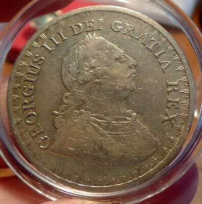 1811 King George III Silver Three Shilling Bank of England Token