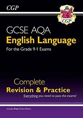 GCSE English Language AQA Complete Revision & Pr by CGP Books New Paperback Book