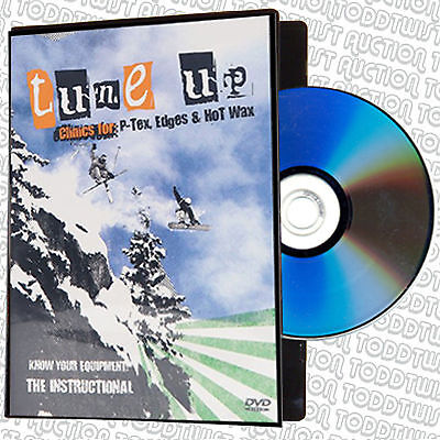 Skiing Tune Up Clinic - P-Tex, Edges & Waxing - DVD