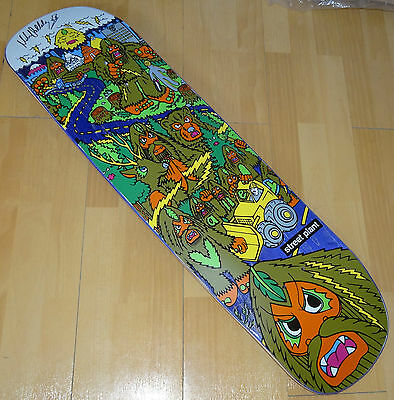 STREET PLANT Mike Vallely Big Foot Skateboard Deck -  Autographed / Ltd Edition