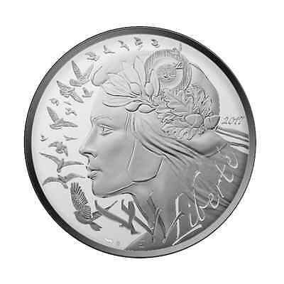 100 euro argent France 2017 - Marianne
