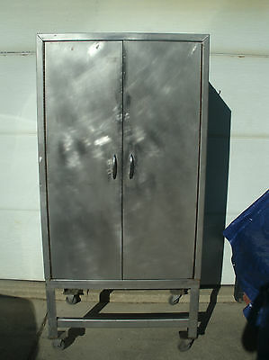 Stainless Bakers Cabinet