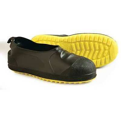 Size M Overshoes, Men's, Yellow/Black, Steel Toe, Tingley